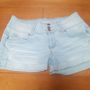 YMI WOMENS JUNIORS SHORTS SIZE 9